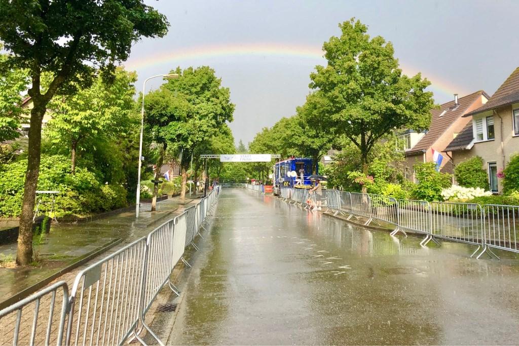 Regen en zon levert prachtige plaatjes op. Foto: Kim Hiddink © DPG Media