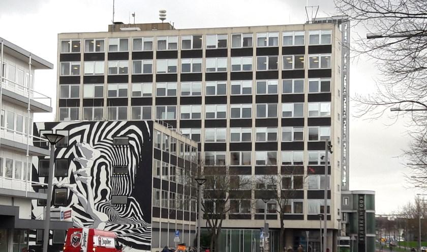 Het stadskantoor aan de Spuiboulevard. (foto: Arco van der Lee)