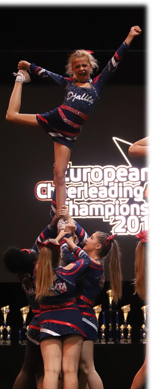 Cheerleaders in actie Foto: CCVA © DPG Media