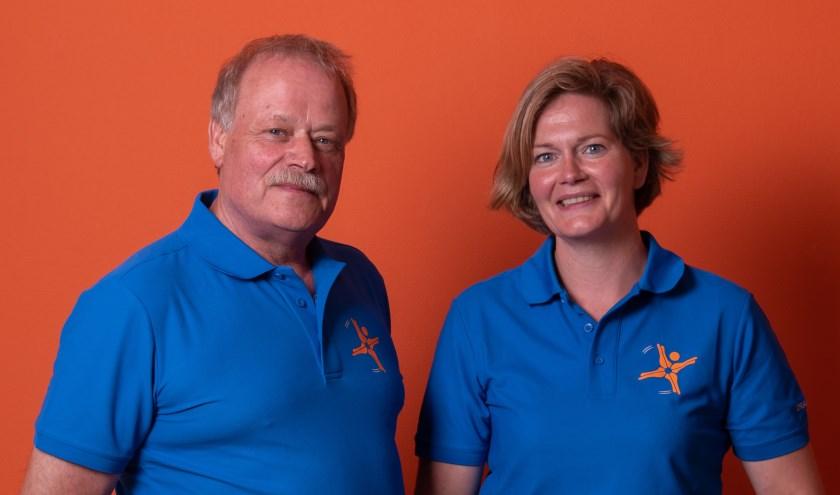 Johan en Bernadette, de eigenaren van FysioSterk.