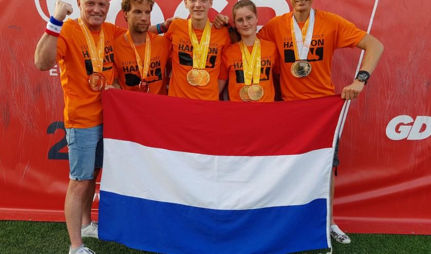Vier Europese titels, 2x zilver en 3 x brons