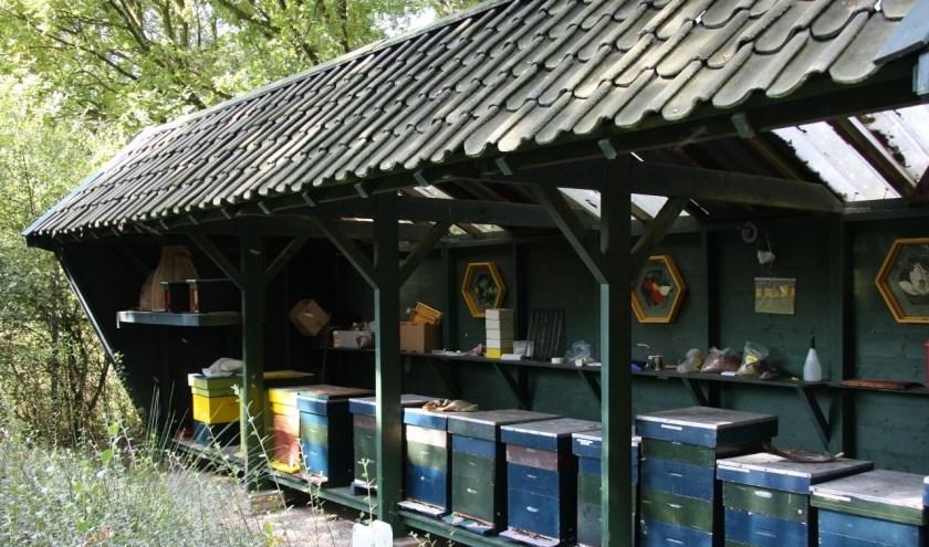 Op zaterdag 10 augustus wordt er een open dag gehouden door de bijenhoudersvereniging Harskamp-Otterlo-Wekerom. (Foto: Dick van Houwelingen)