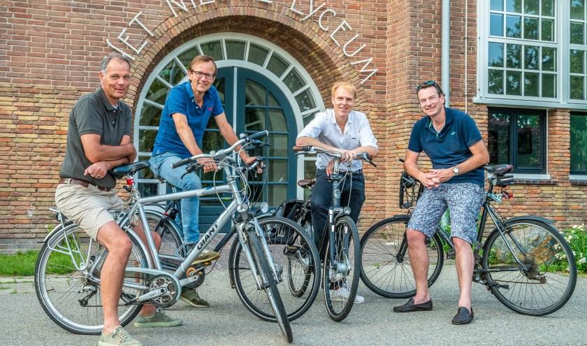 Klaas van der Valk, Krijn Olthof, Paul Berger en Patrick Waardijk hebben er zin in om er een top evenement van te maken! FOTO: Hans Lebbe