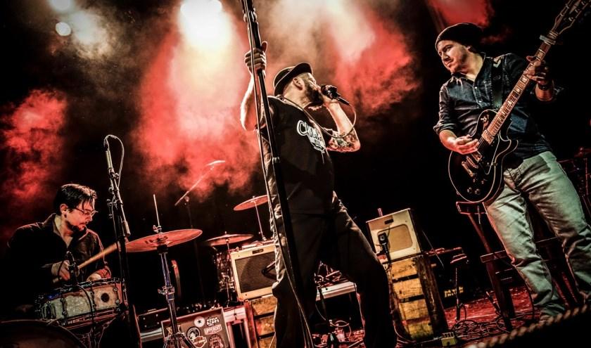 Stomende blues van Hoodoo Monks tijdens Cinema + Musique en Plein Public. Foto: Dave van Hout.
