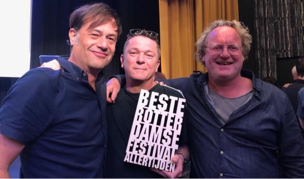 Jasper Scholte, links naast zakenpartner Mark Rouwenhorst.  © DPG Media