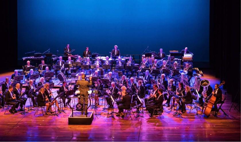 Het orkest van de Douane Harmonie Nederland