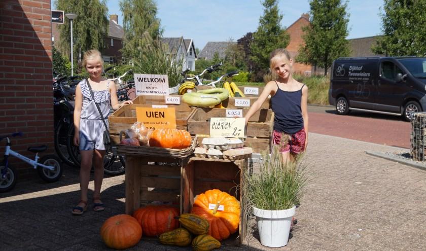 Ninte Bogers en Floor Dijkhof staan met hun eigen kraam midden in Brakel. Deze week staan ze er weer!