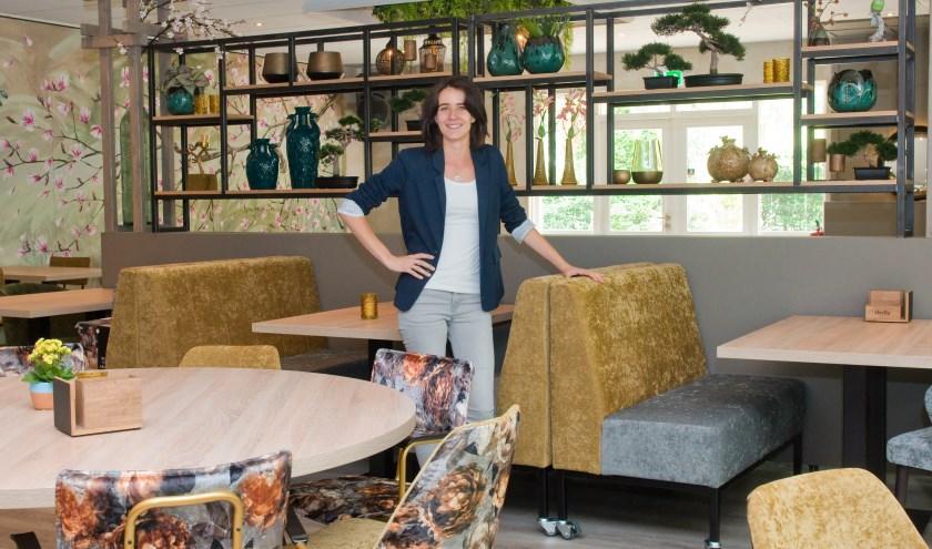De Goffertboerderij kreeg een nieuw, modern interieur met Aziatische elementen waar Lisa met recht trots op is. (Foto: Maaike van Helmond)
