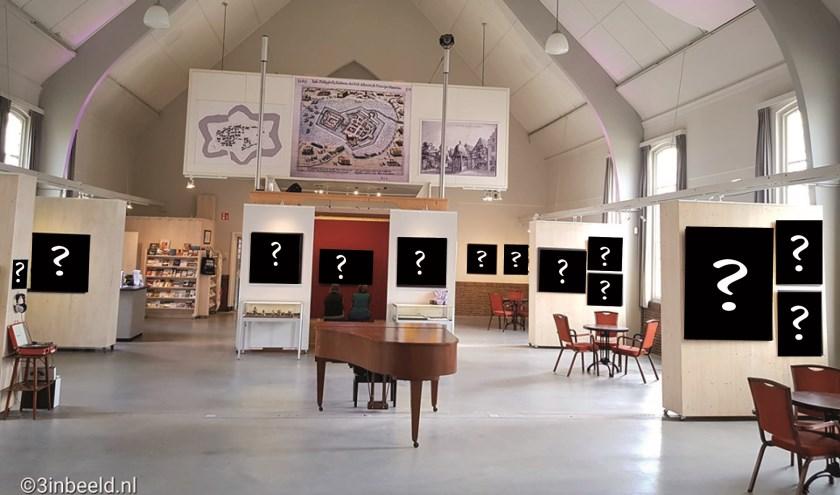 Kunstroof in de Koppelkerk