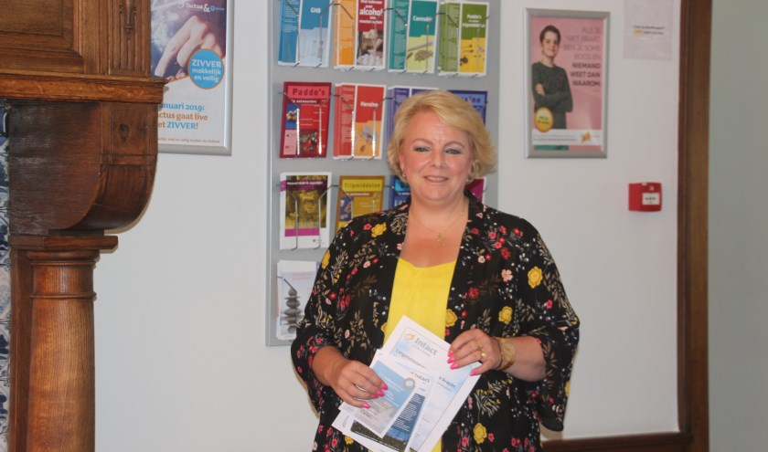 Sylvie Spoelstra is al jaren als vrijwilliger actief binnen Tactus maar wil graag als familie-ervaringsdeskundige professioneel aan de slag