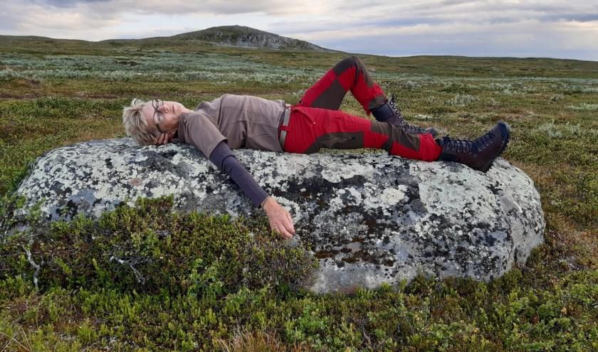 Annemarie de Jong laat zich door de natuur inspireren.