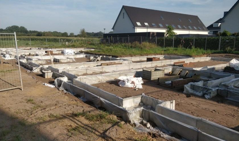 De bouw van het project Samenbouwen in Boxmeer is gestart. (foto: eigen foto)
