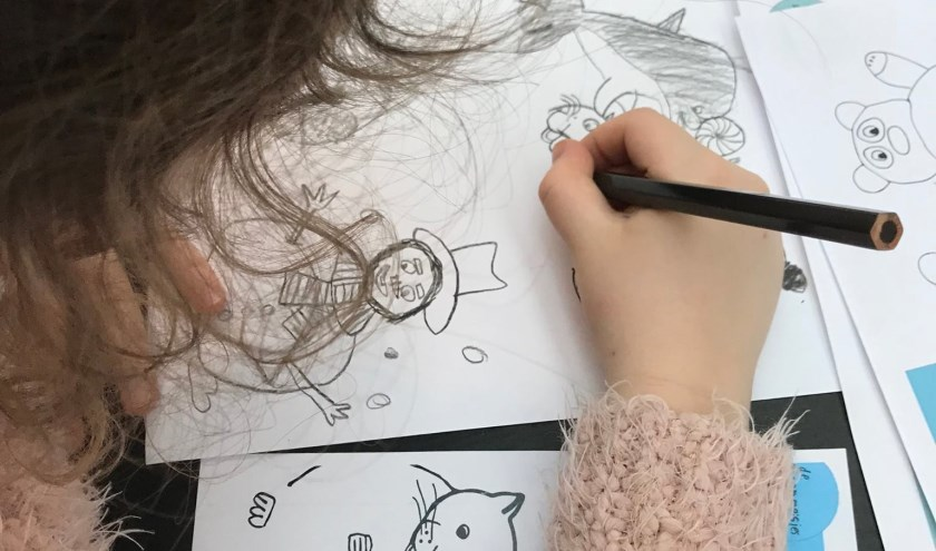 tekenmeisjes