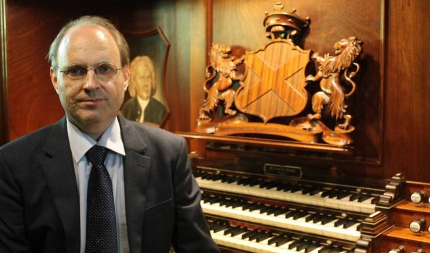 Organist Vincent de Vries