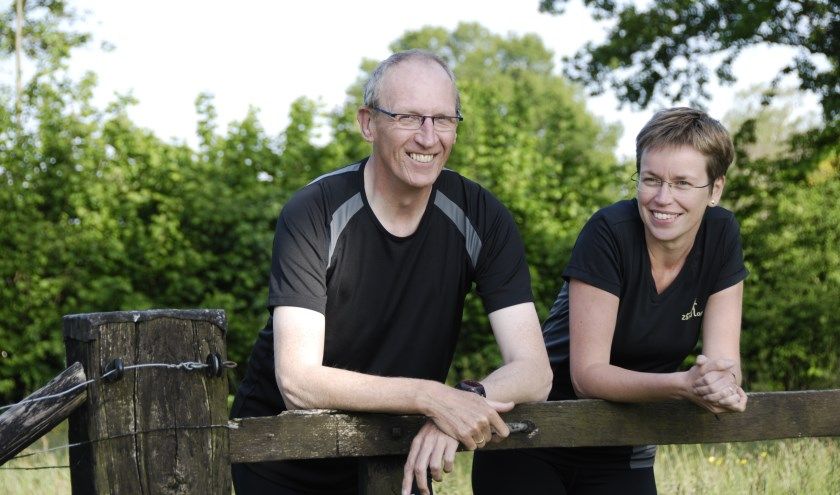 Henk Mengers en Anita Eeltink
