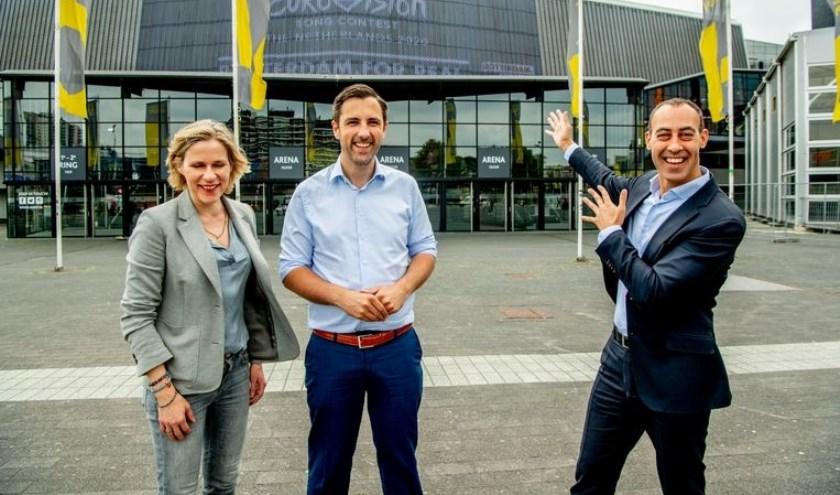 Volgens wethouder Said Kasmi past het Songfestival 'heel erg bij Rotterdam'.
