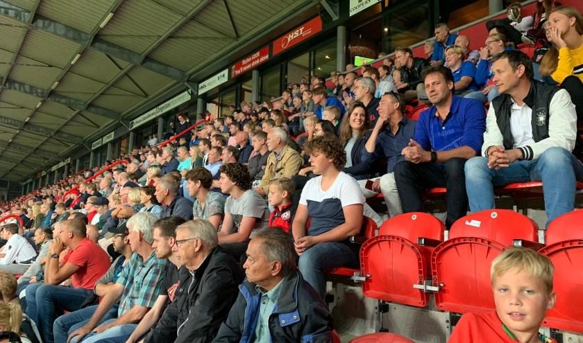 Enschedese Uitdaging had vijftig relaties uitgenodigd voor FC Twente - PSV.