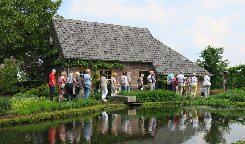 Plaatje van een uitstapje naar natuurtuin De Winckelgaard in Nuenen. (Foto: Hans Verburg).