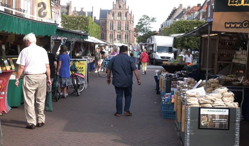 De marktkramen in Culemborg krijgen een vriendelijke en koopkrachtige inkijk.