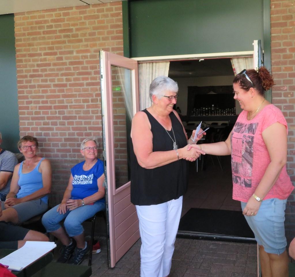 Clubkampioen dames Natasja Veldmaat Foto: Frans Zweers © DPG Media
