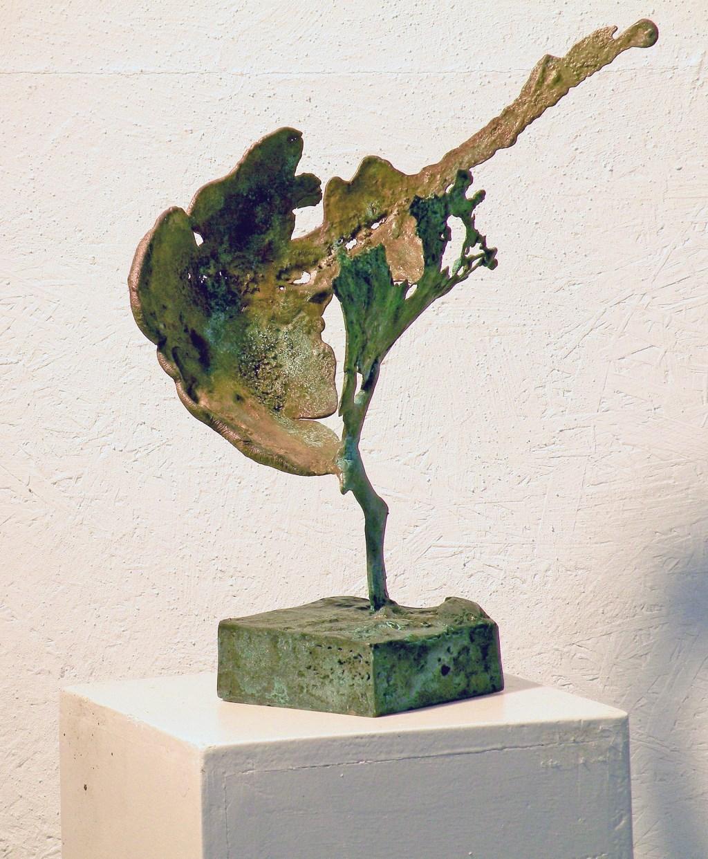 De beelden van Evert van Fucht zijn ook te zien.  Foto: Galerie Tolg'Art © DPG Media