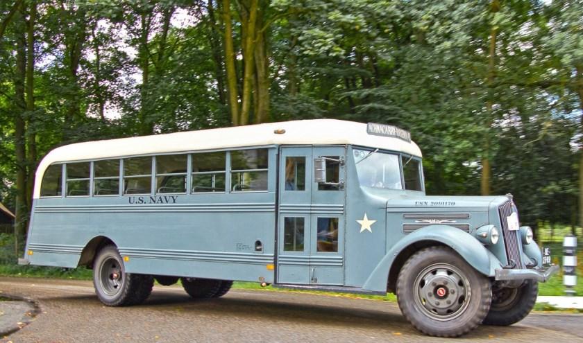 WOII Navy Bus
