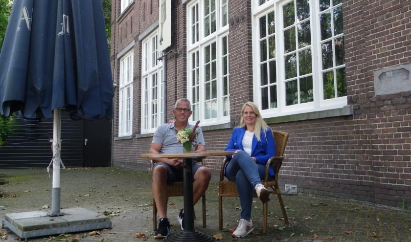 Arnold Westmaas en Inge Vreuls hebben veel plannen voor Dorpshuis De Juffrouw.