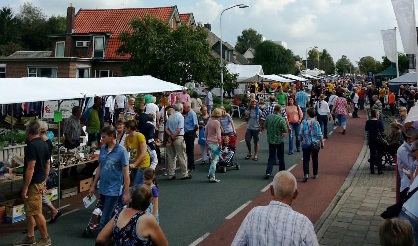 De streekmarkt vormt altijd het hart van de Halse Dag.