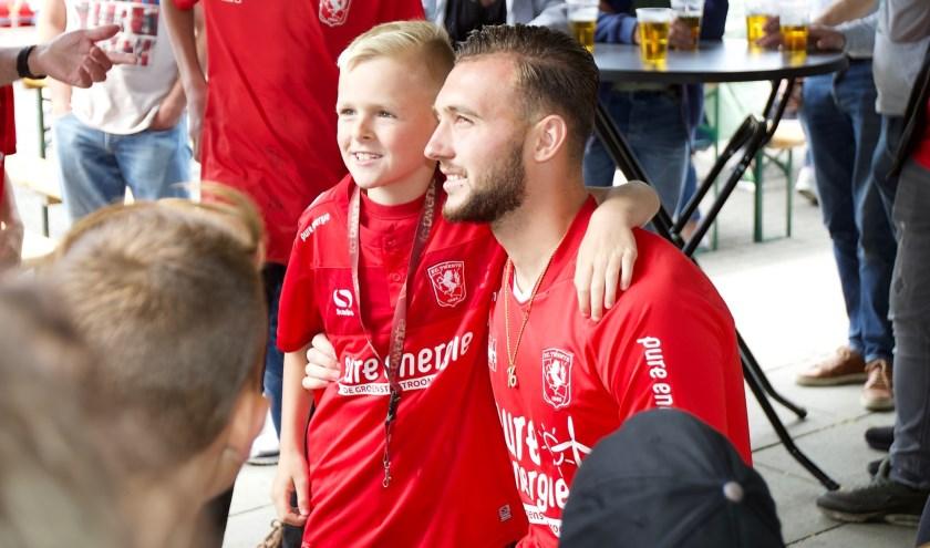 De promotie naar de eredivisie leverde Joël Drommel en zijn ploeggenoten een nominatie op.