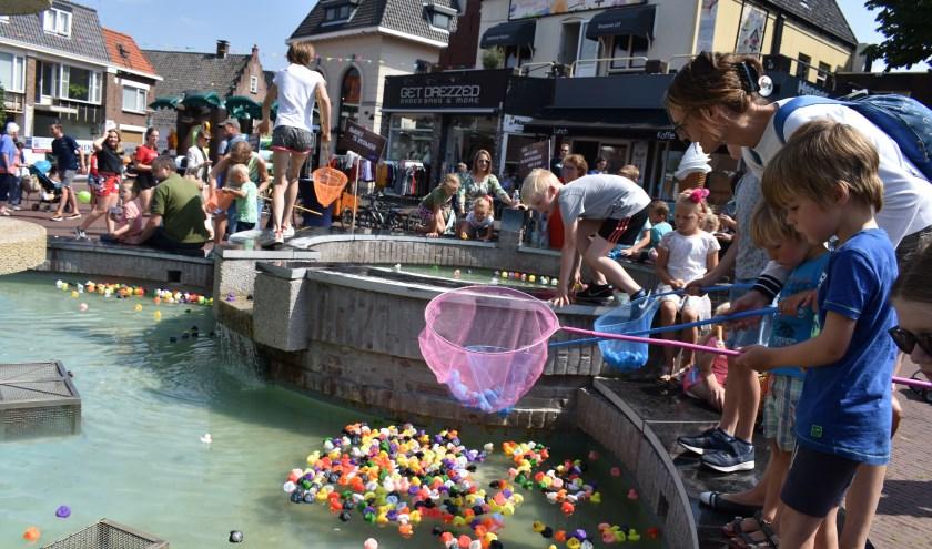 Voor kinderen zijn er op zaterdag 24 augustus leuke activiteiten in het centrum. Foto ter illustratie, dit is niet één van de activiteiten. (Foto: Jolien van Gaalen)