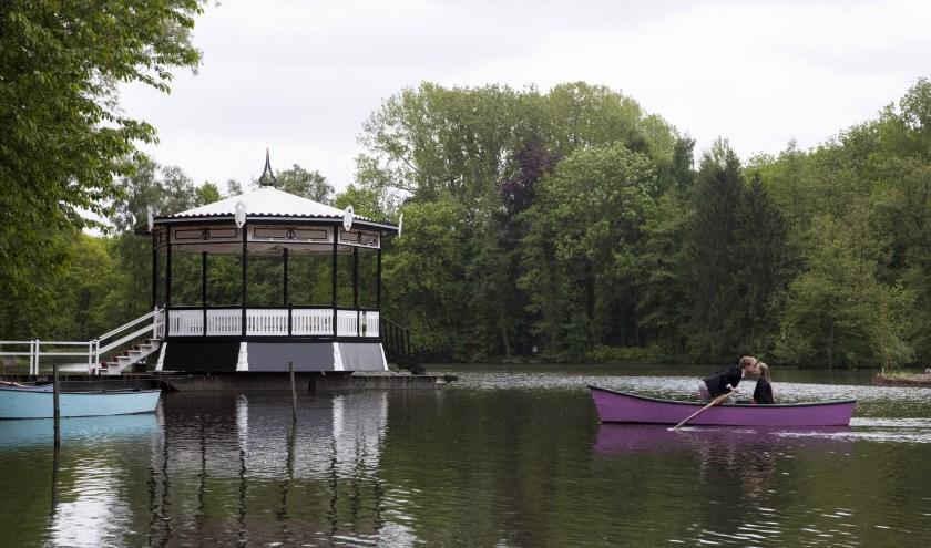 Het groene centrum van Hengelo, zo wordt het Weusthag ook wel genoemd. Een plek aan de rand van Hengelo waar van alles te doen is. Foto: Hengelo Promotie