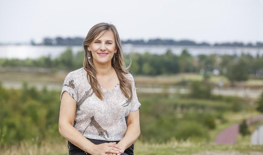Ania is actief voor Meerhoven Internationals Platform, club vrijwilligers die nieuwkomers helpt 'to socialize and integrate'. FOTO: Jurgen van Hoof.