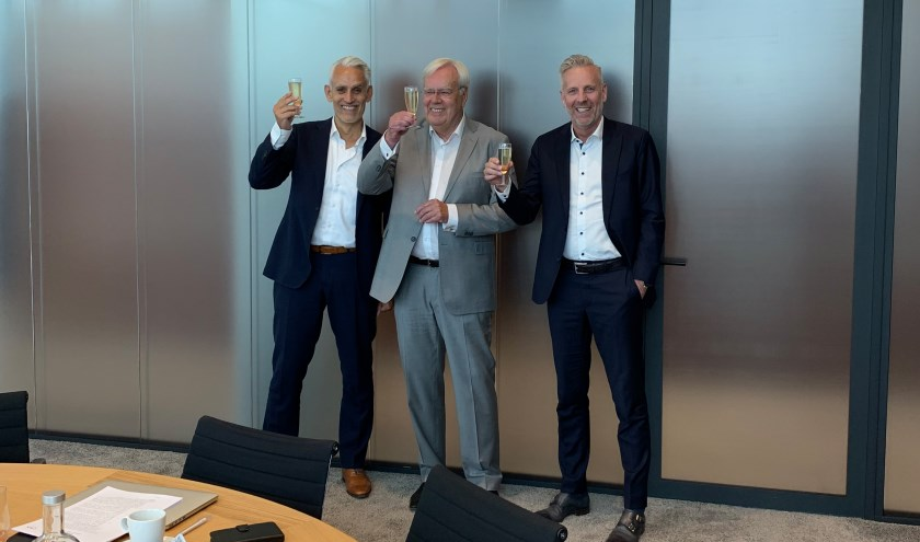 Van links naar rechts: Geert Laseur, Ton Schipper, Casper Gerritsen.