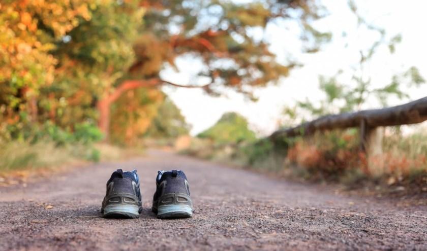 De bedoeling van de wandeling is om mensen met een verlies bij elkaar te brengen. (Foto: Evenmens, L. Smit)