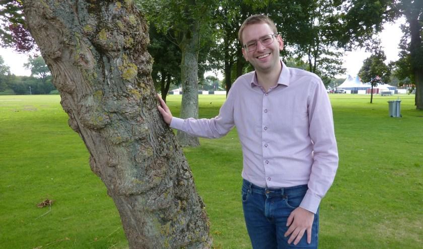 """""""Steeds meer festivals in parken worden afgesloten met vuurwerk"""", zegt Robert Barker van de Partij voor de Dieren"""