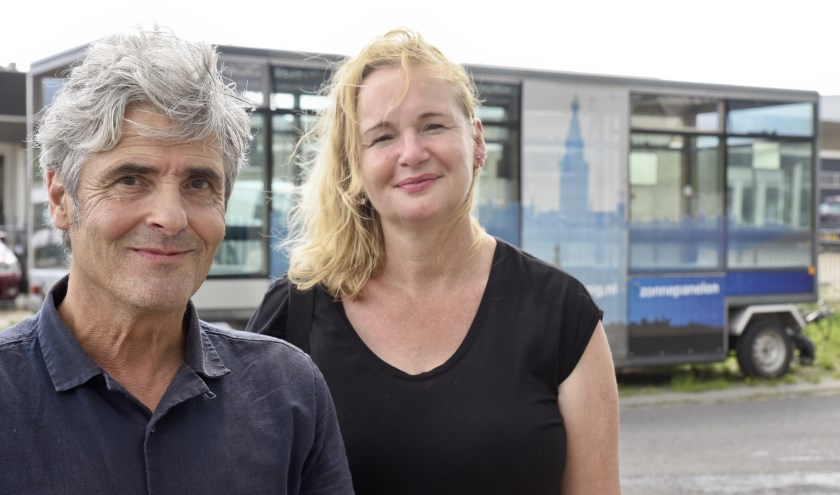 Niels Leijdekkers en Marieke Ceelen. (Foto: Walter Janssen)