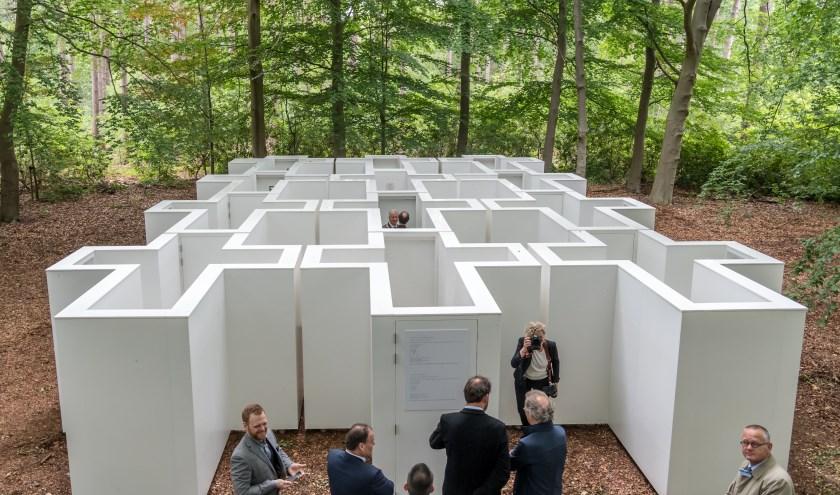 In juni van dit jaar is het dilemmadoolhof geopend. Naar verwachting nemen de bezoekersaantallen nog toe. foto: Marjan Stolk