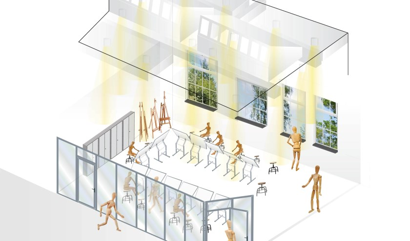 In augustus zijn er verbouwingen de in Bibliotheek Veenendaal. Zo moet het worden.