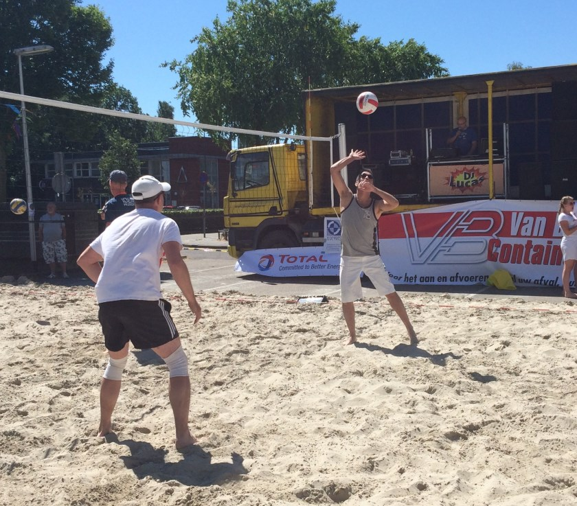 impressie beachvolley