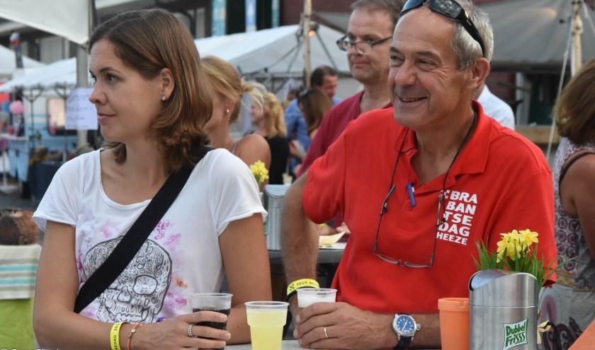 Cees van Arendonk met dochter Brechje, die jaren lang actief was voor de werkgroep Financiën van de Brabantsedag. Foto: Geert Engels