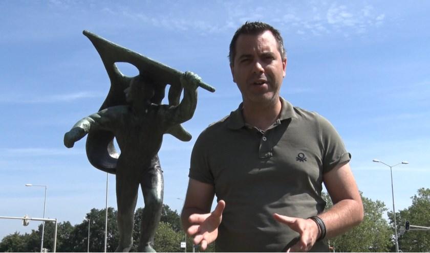 RN7-presentator Maurice de Mandt. (Foto RN7)