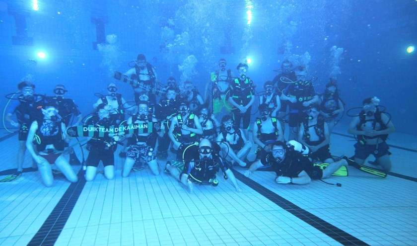 Ontdek de wondere wereld onder water. (Foto Duikteam de Kaaiman)
