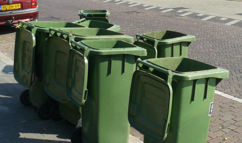 Papier kan in Goirle in september al in de duocontainer verzameld worden.