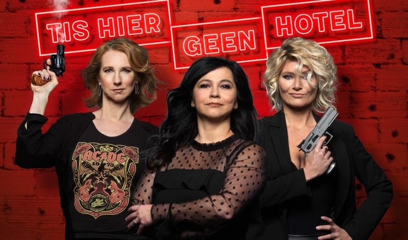 Dianne Liesker, Ellen Dikker en Hanneke Drenth duiken in de wereld van pubers. Foto: Govert de Roos