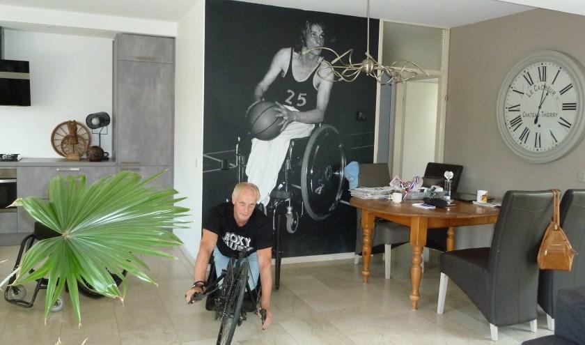 Sporten is voor Ed Roeters uit Helmond erg belangrijk.