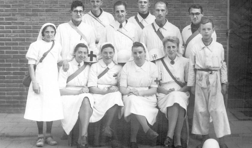 De leden van Postje Klarendal, Veenendaal, 24 oktober 1944