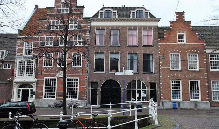 Het huis van Valerius Röver (midden). (foto: Jeroen Stolk)