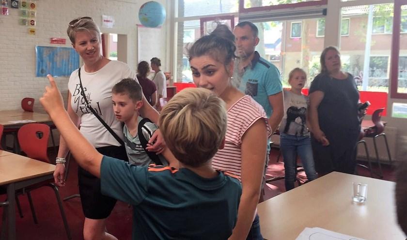 Sinds afgelopen week genieten 65 kinderen  van Op den Esch verdeeld onderwijs in een locatie aan de Lariksweg.