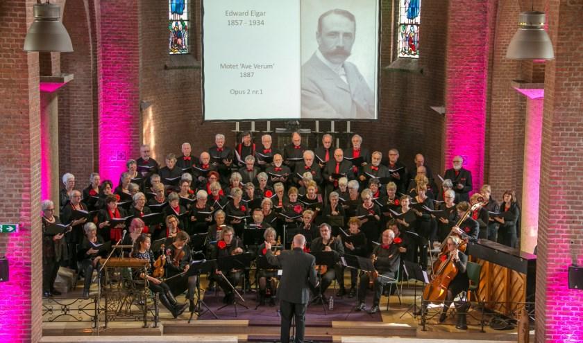 Laatste concert van Vox Humana in de kapel van Willibrordhaeghe in Deurne maart 2019. Foto: Jan Dijstelbloem.