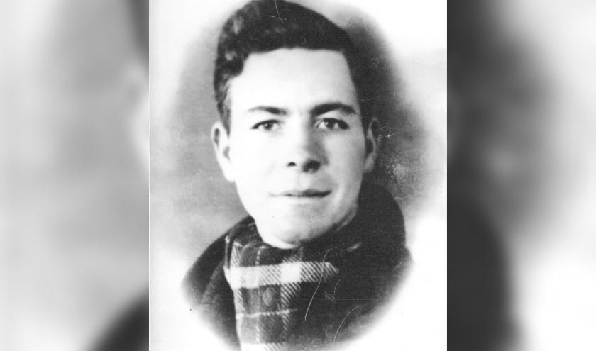 Portret van Hendrik Hoeks,  aan het Oostfront gesneuveld op 14 augustus 1943. Foto: Familie Hoeks